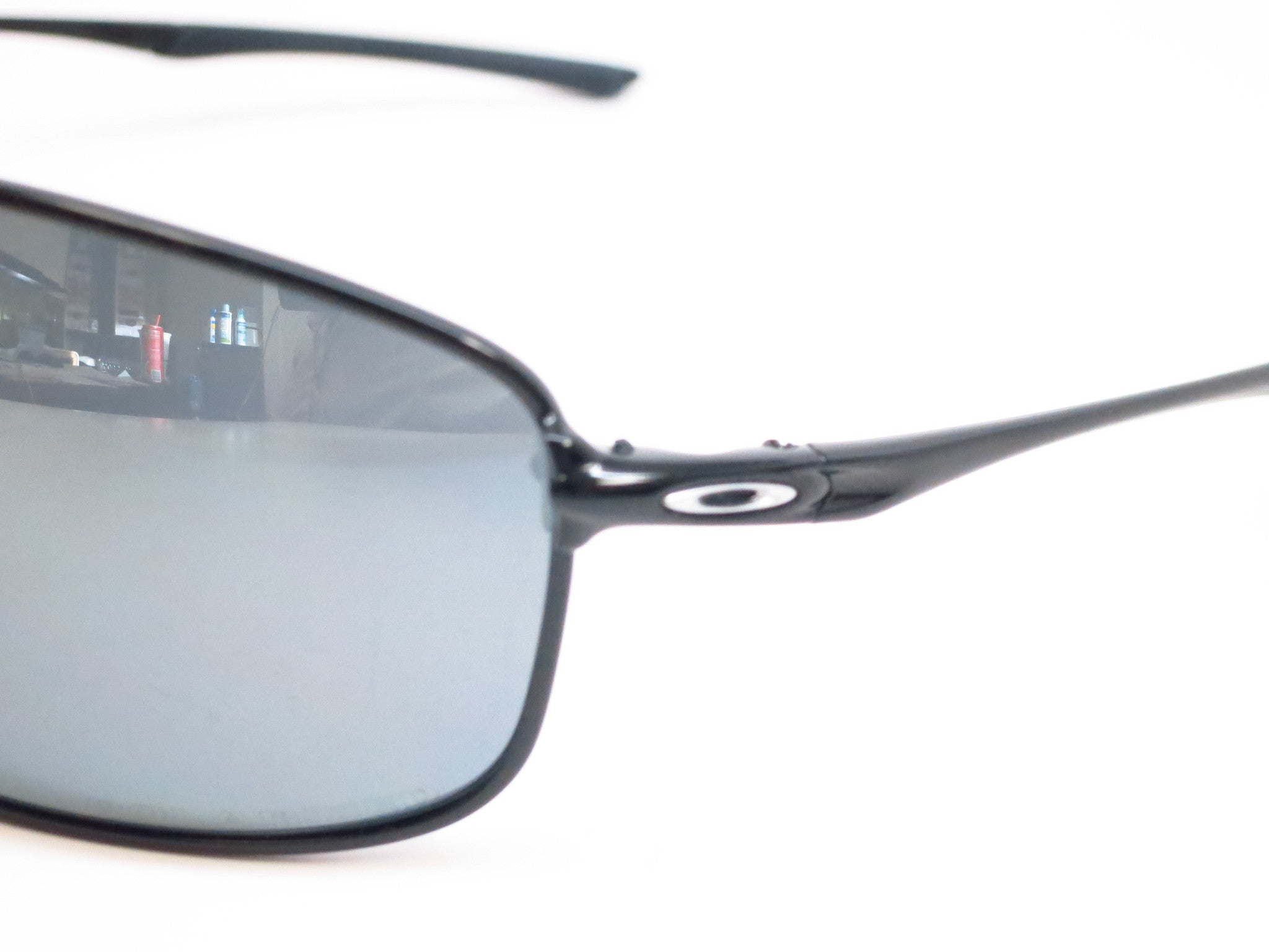 1c1cb3df39f ... Oakley Taper OO4074-04 Polished Black Polarized Sunglasses - Eye Heart  Shades - Oakley ...