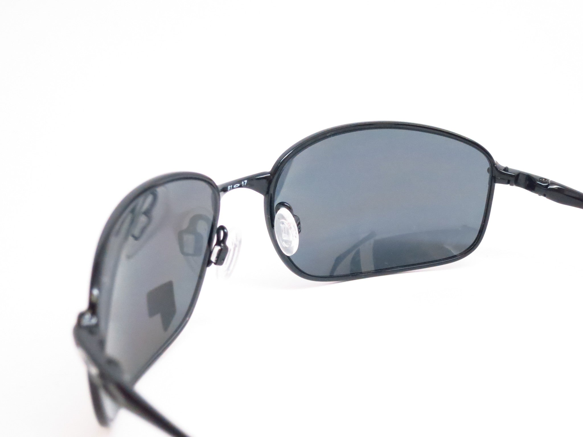 83ff4a0d54b Oakley Taper OO4074-04 Polished Black Polarized Sunglasses - Eye Heart  Shades