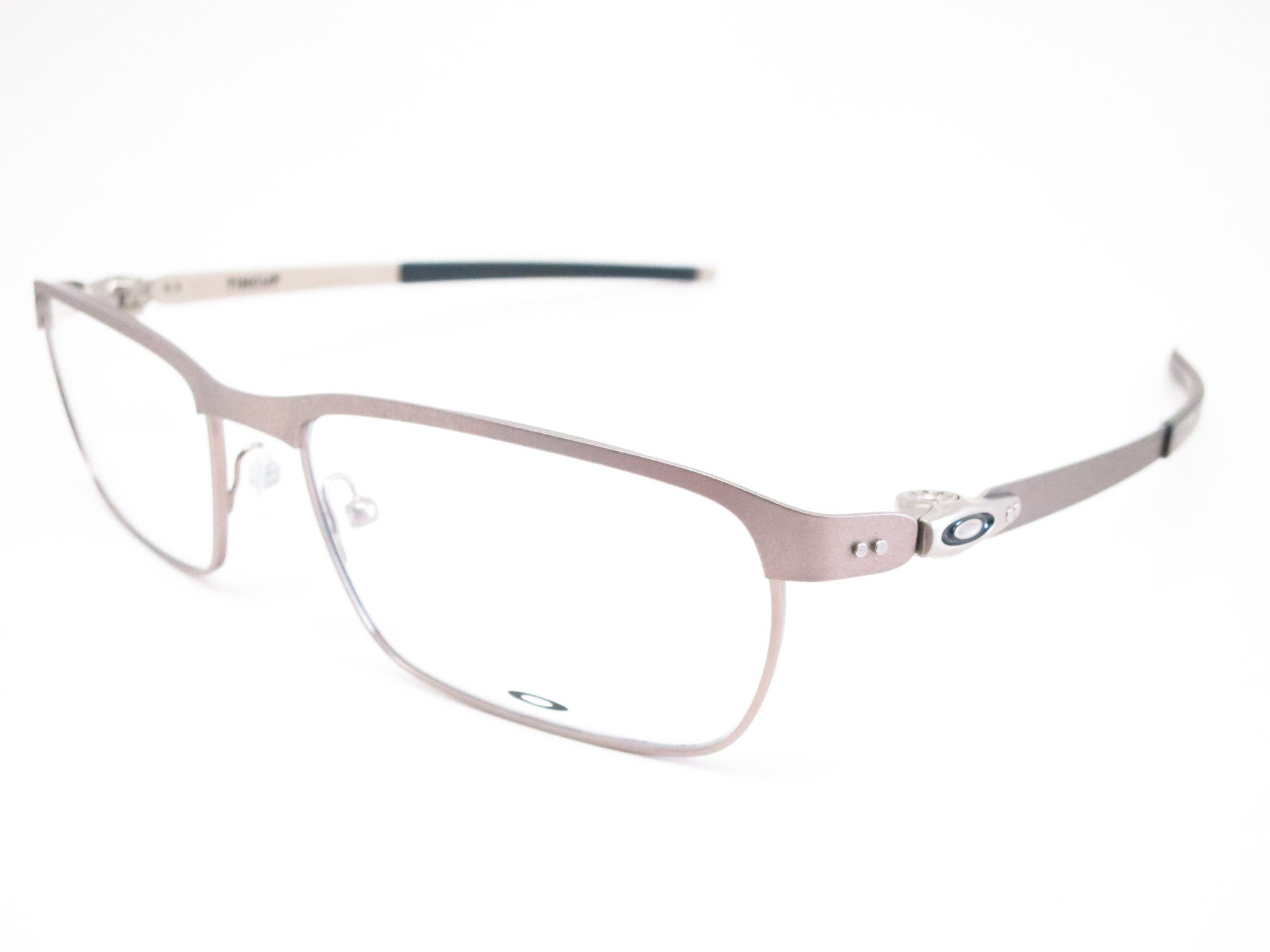 06221b1769 Oakley Tincup OX3184-04 Powder Steel Eyeglasses - Eye Heart Shades - Oakley  - Eyeglasses ...