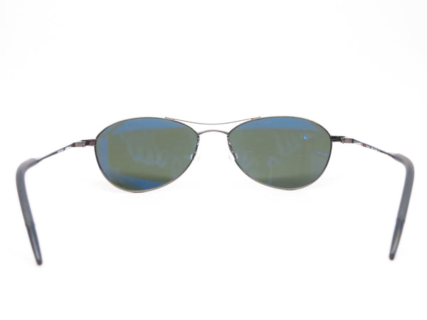 Oliver Peoples Aero OV 1005 5016/P1 Black Chrome Sunglasses - Eye Heart Shades - Oliver Peoples - Sunglasses - 7