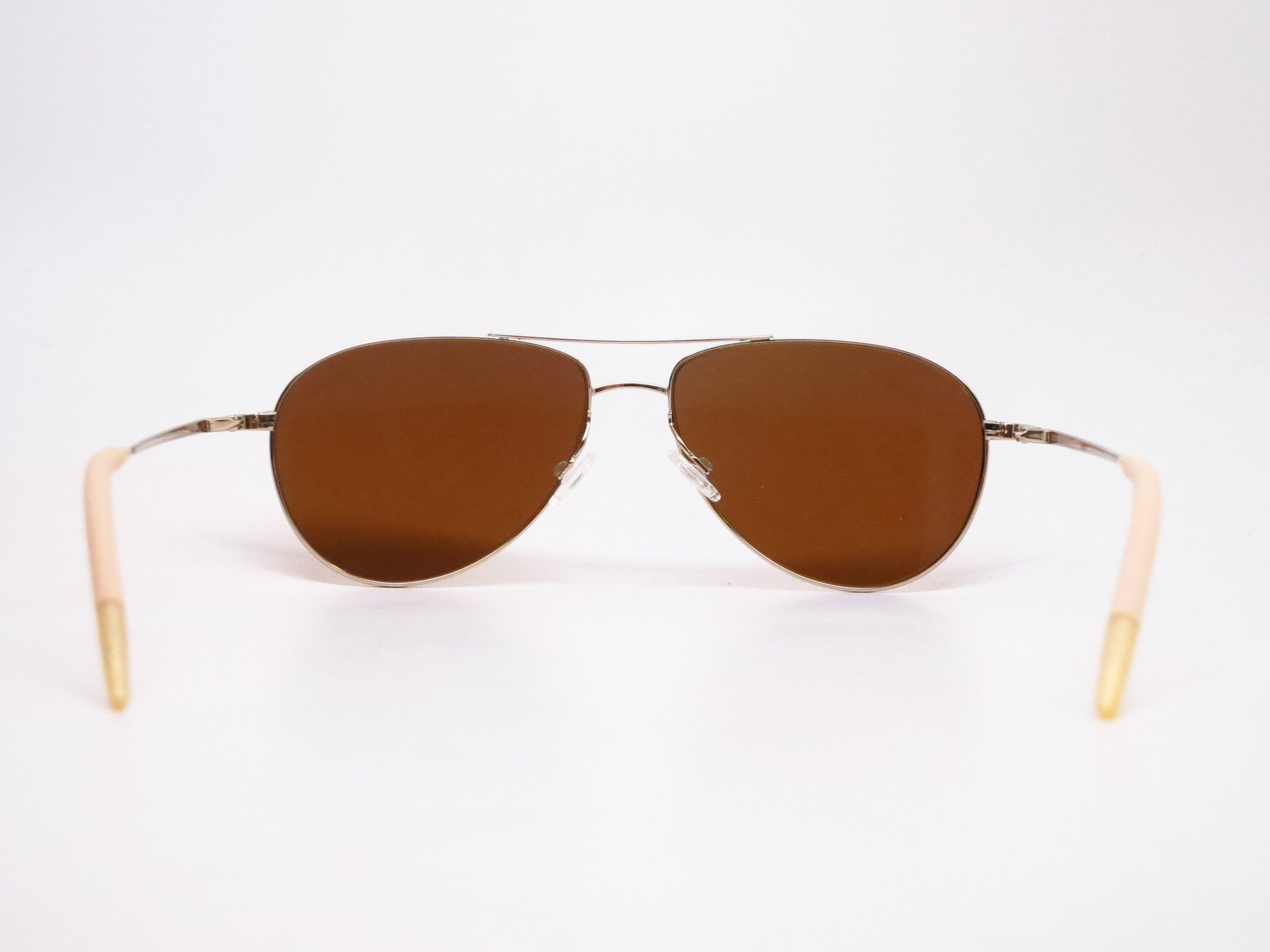 773f7066e6d ... Oliver Peoples Benedict OV 1002S 5035/N6 Gold Polarized Sunglasses -  Eye Heart Shades ...