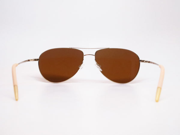 Oliver Peoples Benedict OV 1002S 5035/N6 Gold Polarized Sunglasses - Eye Heart Shades - Oliver Peoples - Sunglasses - 7