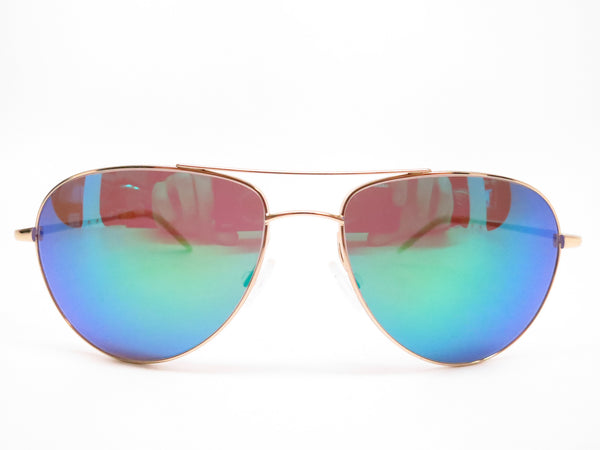 Oliver Peoples Benedict OV 1002S 5035/71 Gold Green Mirrored Sunglasses - Eye Heart Shades - Oliver Peoples - Sunglasses - 2