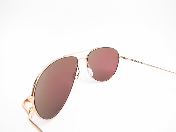 Oliver Peoples Benedict OV 1002S 5035/71 Gold Green Mirrored Sunglasses - Eye Heart Shades - Oliver Peoples - Sunglasses - 6