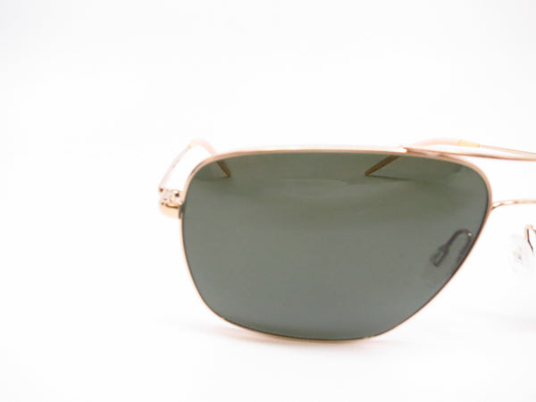Oliver Peoples Clifton OV 1150S 5035/P1 Gold Polarized Sunglasses - Eye Heart Shades - Oliver Peoples - Sunglasses - 4