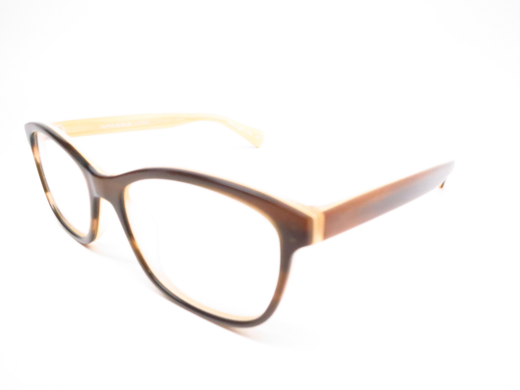 4cb95d6241 Oliver Peoples Follies OV 5194 1281 Brown with Cream Eyeglasses - Eye Heart  Shades - Oliver ...
