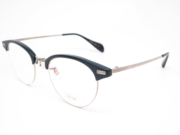 Oliver Peoples OV 1171T Executive II 1465 Matte Black & Pewter Eyeglasses - Eye Heart Shades - Oliver Peoples - Eyeglasses - 1