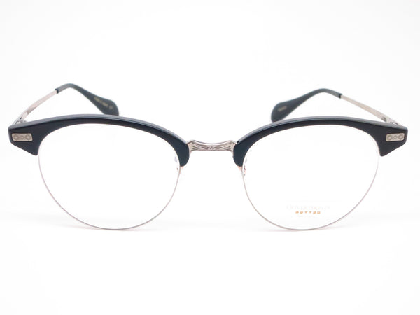 Oliver Peoples OV 1171T Executive II 1465 Matte Black & Pewter Eyeglasses - Eye Heart Shades - Oliver Peoples - Eyeglasses - 2
