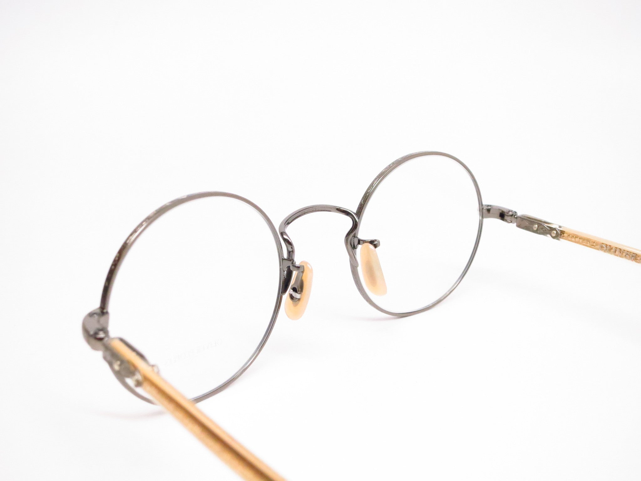 a08957a32e8 ... Oliver Peoples Overstreet OV 1190 5039 Antique Gold Eyeglasses - Eye  Heart Shades - Oliver Peoples ...
