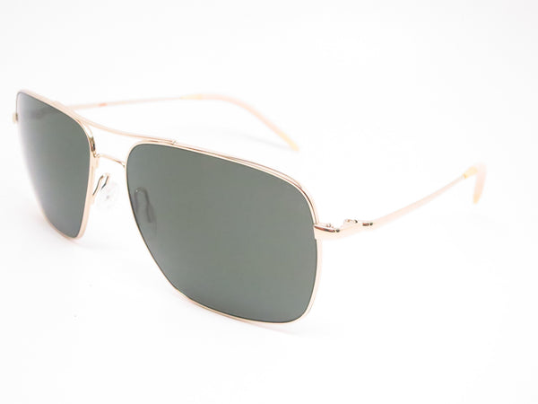 Oliver Peoples Clifton OV 1150-S 5035/P1 Gold Polarized Sunglasses - Eye Heart Shades - Oliver Peoples - Sunglasses - 1