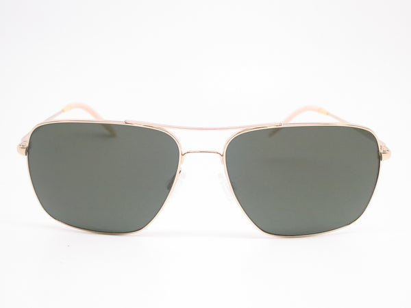 Oliver Peoples Clifton OV 1150-S 5035/P1 Gold Polarized Sunglasses - Eye Heart Shades - Oliver Peoples - Sunglasses - 2