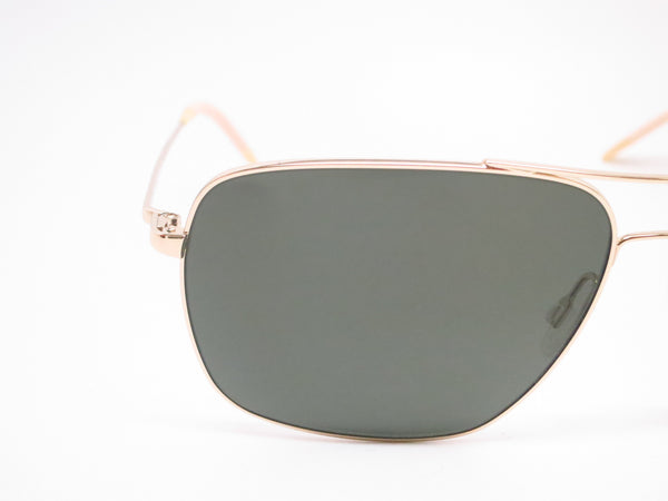 Oliver Peoples Clifton OV 1150-S 5035/P1 Gold Polarized Sunglasses - Eye Heart Shades - Oliver Peoples - Sunglasses - 4