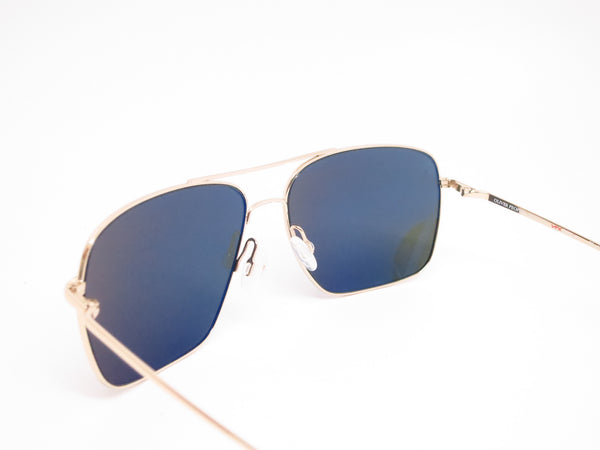 Oliver Peoples Clifton OV 1150-S 5035/P1 Gold Polarized Sunglasses - Eye Heart Shades - Oliver Peoples - Sunglasses - 6