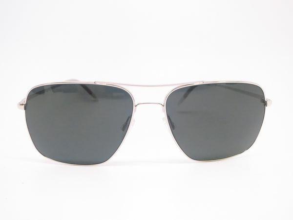 Oliver Peoples Clifton OV 1150-S 5036/P2 Silver Polarized Sunglasses - Eye Heart Shades - Oliver Peoples - Sunglasses - 2
