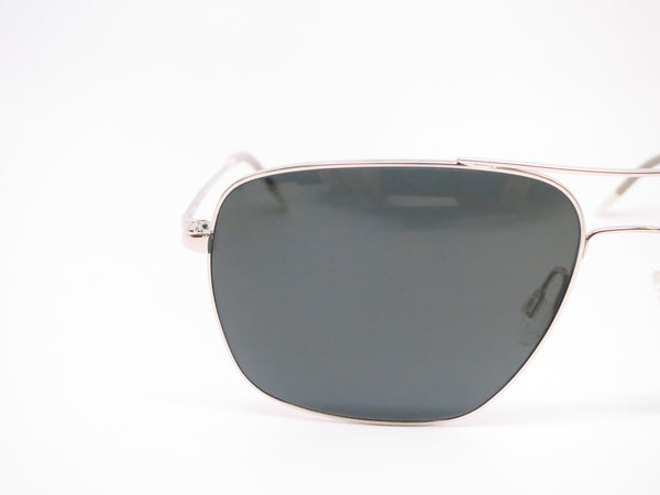 Oliver Peoples Clifton OV 1150-S 5036/P2 Silver Polarized Sunglasses - Eye Heart Shades - Oliver Peoples - Sunglasses - 4