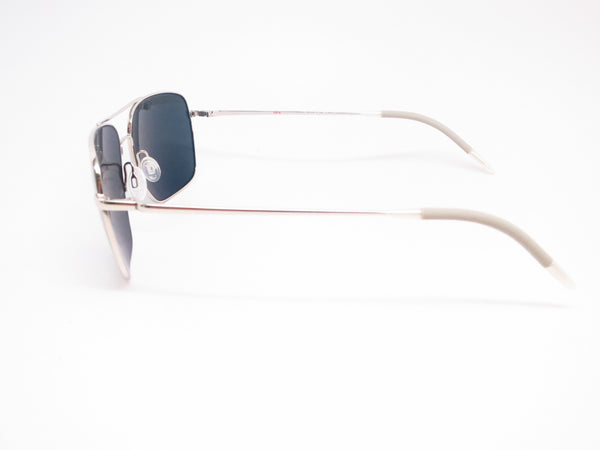 Oliver Peoples Clifton OV 1150-S 5036/P2 Silver Polarized Sunglasses - Eye Heart Shades - Oliver Peoples - Sunglasses - 5