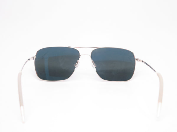 Oliver Peoples Clifton OV 1150-S 5036/P2 Silver Polarized Sunglasses - Eye Heart Shades - Oliver Peoples - Sunglasses - 7