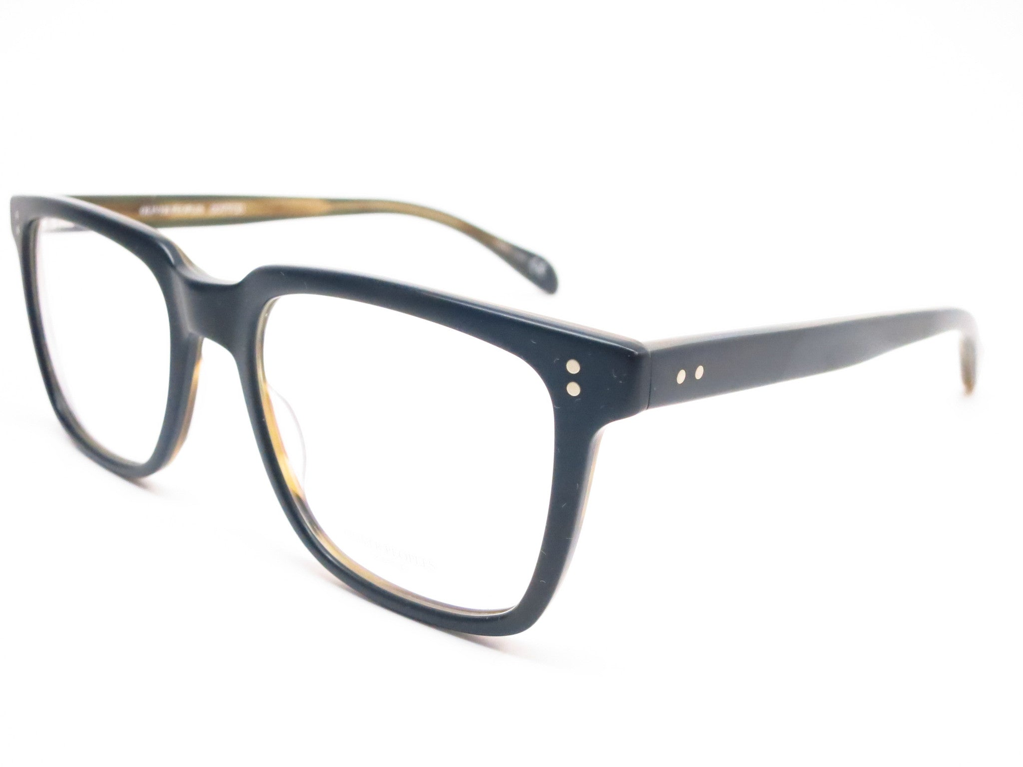 b606fcf0830 Oliver Peoples NDG OV 5031 1282 Matte Black   Olive Tortoise Eyeglasses -  Eye Heart Shades ...