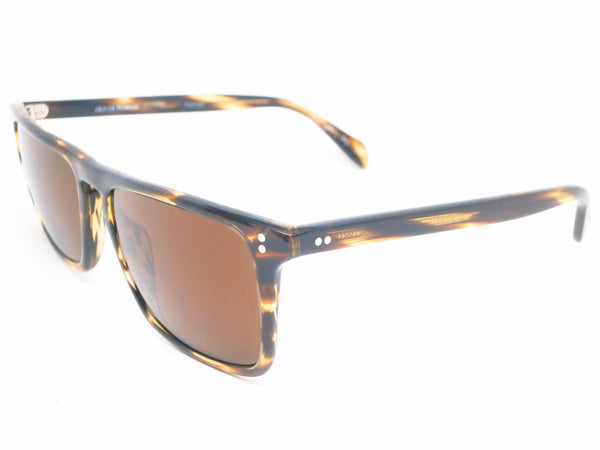 Oliver Peoples Bernardo OV 5189 1003/N9 Cocobolo Polarized Sunglasses - Eye Heart Shades - Oliver Peoples - Sunglasses - 1