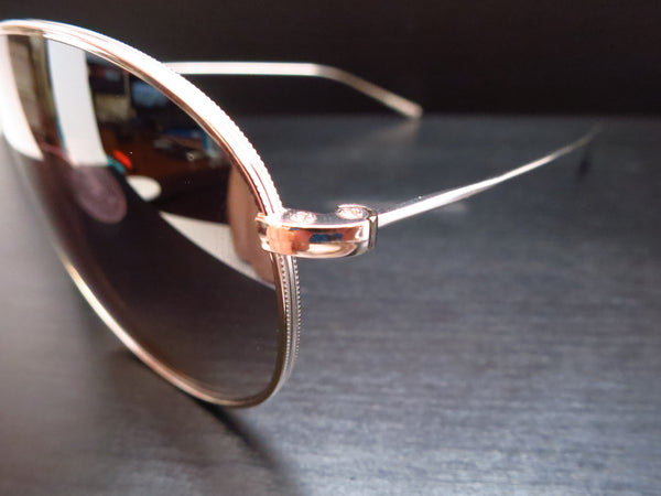 Oliver Peoples Tavener OV 1147ST 5127/6I Silver Sunglasses - Eye Heart Shades - Oliver Peoples - Sunglasses - 3