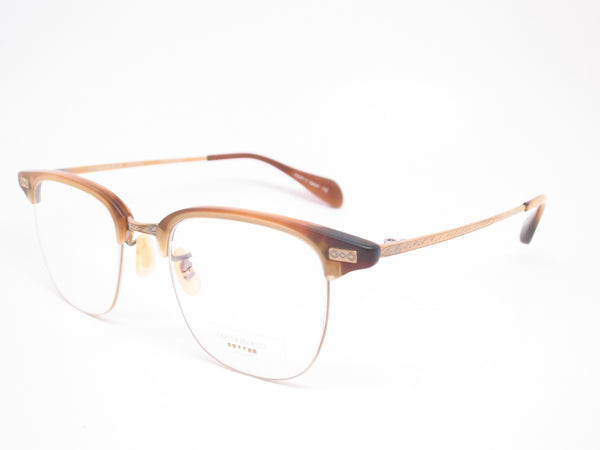 Oliver Peoples OV 1172T Executive 1488 Matte Sycamore/Antique Gold Eyeglasses - Eye Heart Shades - Oliver Peoples - 1