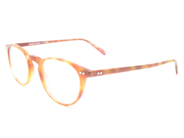 Oliver Peoples OV 5004 Riley R 1483 LBR Semi Matte Eyeglasses - Eye Heart Shades - Oliver Peoples - Eyeglasses - 1