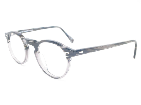 Oliver Peoples OV 5186 Gregory Peck 1011 Storm Eyeglasses - Eye Heart Shades - Oliver Peoples - Eyeglasses - 1