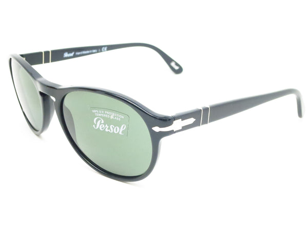 Persol PO 2931-S 95/31 Shiny Black Sunglasses - Eye Heart Shades - Persol - Sunglasses - 1