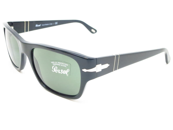 Persol PO 3021-S 95/31 Shiny Black Sunglasses - Eye Heart Shades - Persol - Sunglasses - 1
