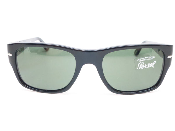 Persol PO 3021-S 95/31 Shiny Black Sunglasses - Eye Heart Shades - Persol - Sunglasses - 2