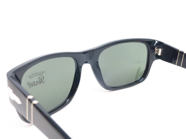 Persol PO 3021-S 95/31 Shiny Black Sunglasses - Eye Heart Shades - Persol - Sunglasses - 6