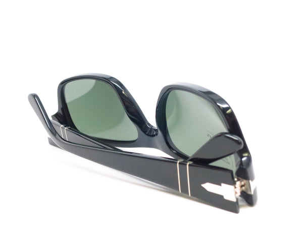 Persol PO 3021-S 95/31 Shiny Black Sunglasses - Eye Heart Shades - Persol - Sunglasses - 8
