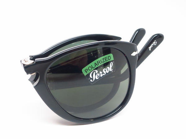 Persol PO 714-S 95/58 Black Polarized Folding Sunglasses - Eye Heart Shades - Persol - Sunglasses - 10