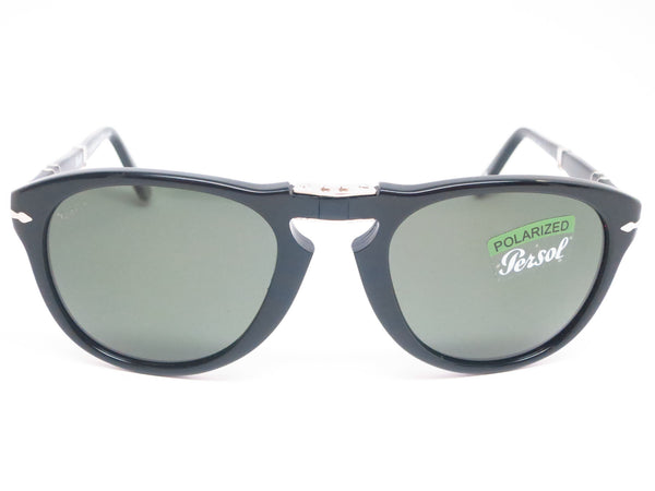 Persol PO 714-S 95/58 Black Polarized Folding Sunglasses - Eye Heart Shades - Persol - Sunglasses - 2