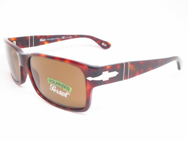 Persol PO 2803-S 24/57 Havana Polarized Sunglasses - Eye Heart Shades - Persol - Sunglasses - 1