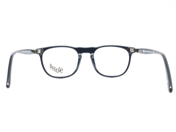 Persol PO 2996V 95 Shiny Black Eyeglasses - Eye Heart Shades - Persol - Eyeglasses - 7