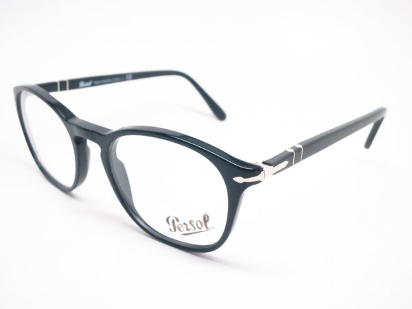 Persol PO 3007V 95 Shiny Black Eyeglasses - Eye Heart Shades - Eye Heart Shades -  - 1