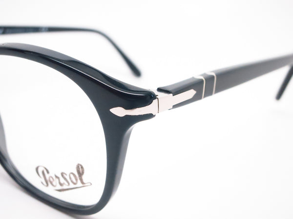 Persol PO 3007V 95 Shiny Black Eyeglasses - Eye Heart Shades - Eye Heart Shades -  - 3