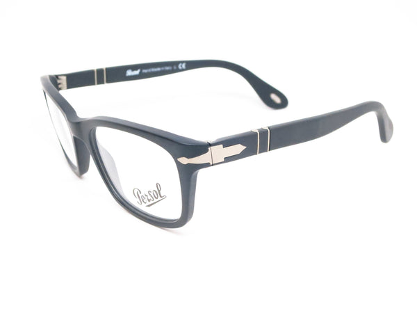 Persol PO 3012V 900 Matte Black Eyeglasses - Eye Heart Shades - Persol - Eyeglasses - 1