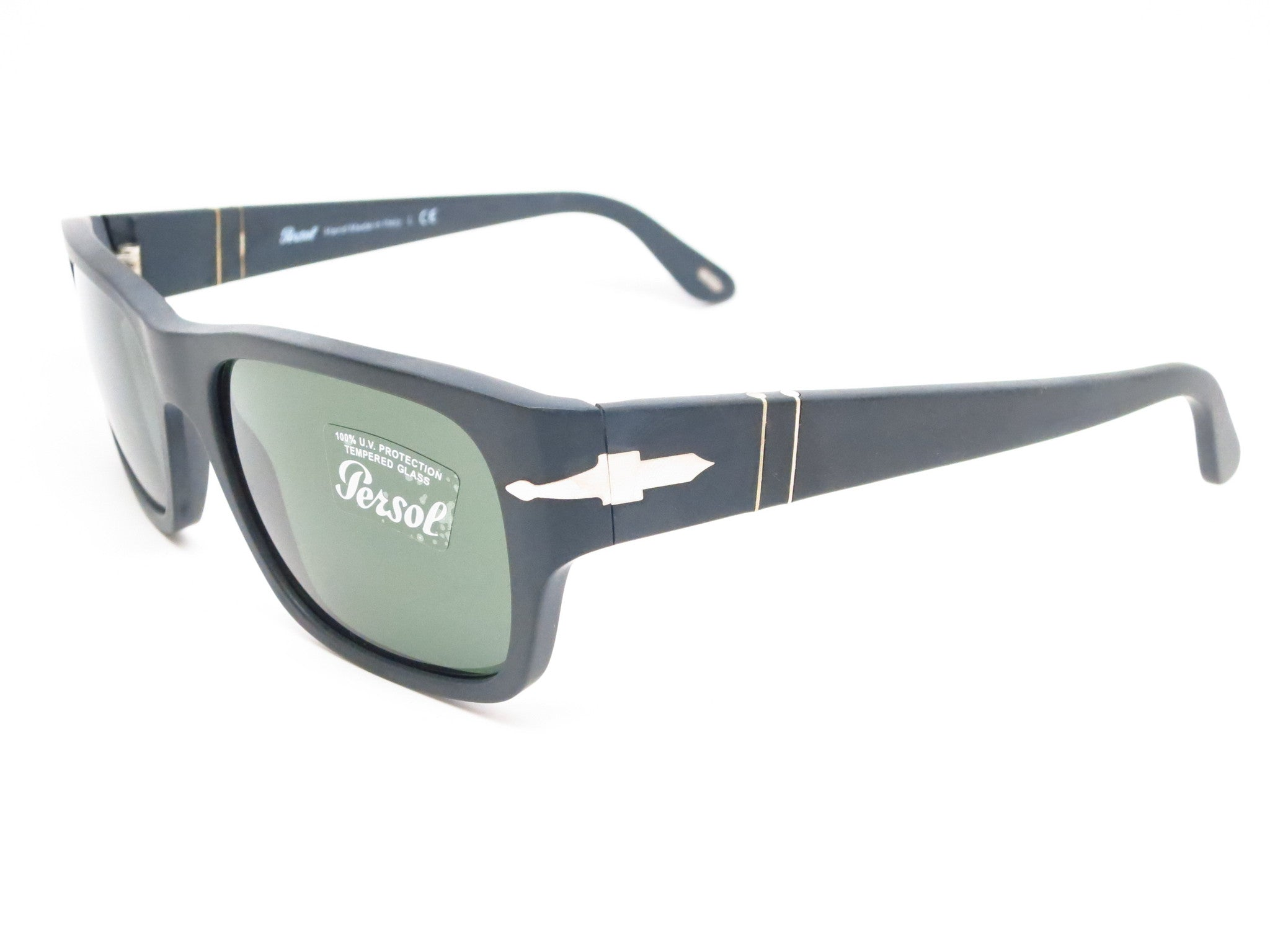 59908ba4c3ee Persol PO 3021-S 900/31 Matte Black Sunglasses - Eye Heart Shades -