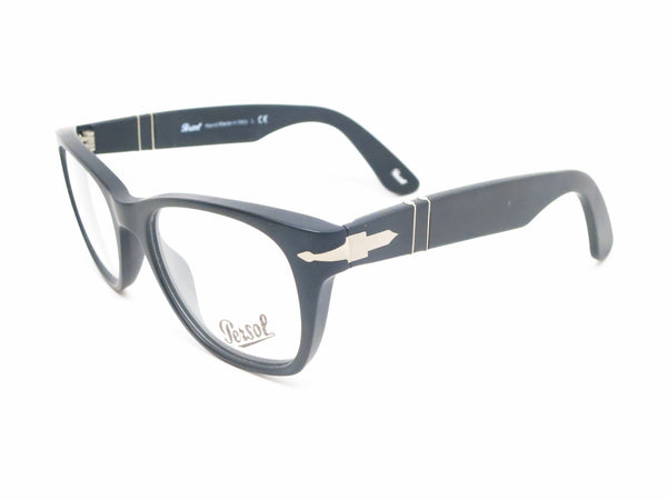 Persol PO 3039V 900 Matte Black Eyeglasses - Eye Heart Shades - Persol - Eyeglasses - 1