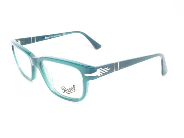 Persol PO 3073V 1001 Opal Dark Green Eyeglasses - Eye Heart Shades - Persol - Eyeglasses - 1