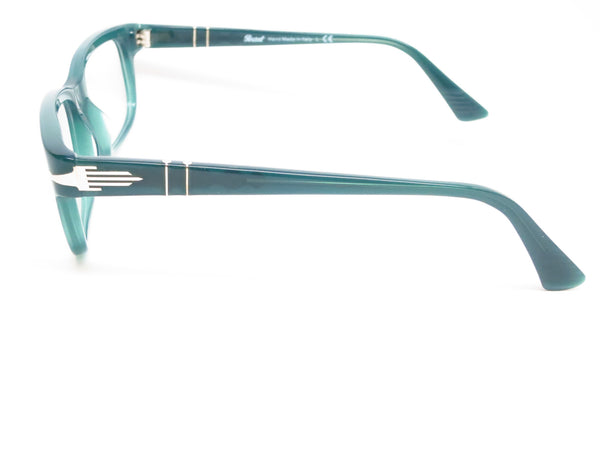 Persol PO 3073V 1001 Opal Dark Green Eyeglasses - Eye Heart Shades - Persol - Eyeglasses - 5
