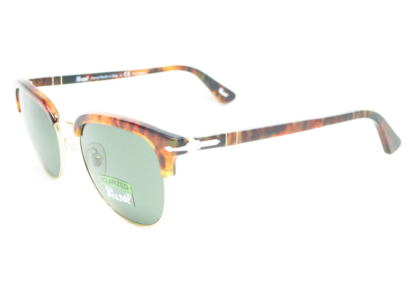 Persol PO 3105-S 108/58 Caffe Havana Polarized Sunglasses - Eye Heart Shades - Persol - Sunglasses - 1