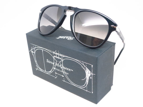 Steve McQueen Persol 714-SM 95/71 Black Sunglasses - Eye Heart Shades - Persol - Sunglasses - 1