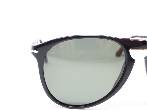 Persol PO 9714-S 95/58 Shiny Black Polarized Folding Sunglasses - Eye Heart Shades - Persol - Sunglasses - 4