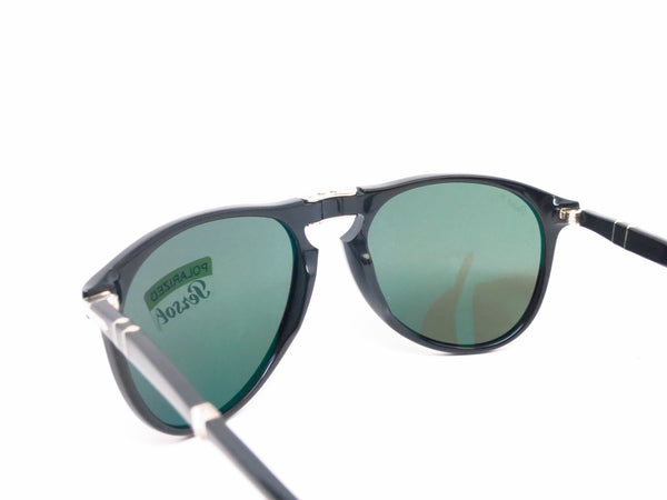 Persol PO 9714-S 95/58 Shiny Black Polarized Folding Sunglasses - Eye Heart Shades - Persol - Sunglasses - 6