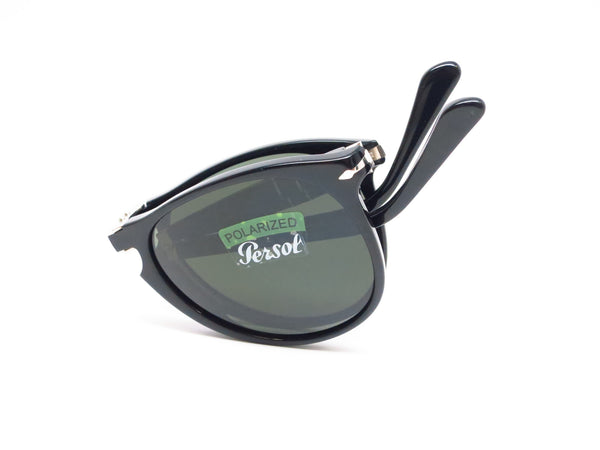 Persol PO 9714-S 95/58 Shiny Black Polarized Folding Sunglasses - Eye Heart Shades - Persol - Sunglasses - 8