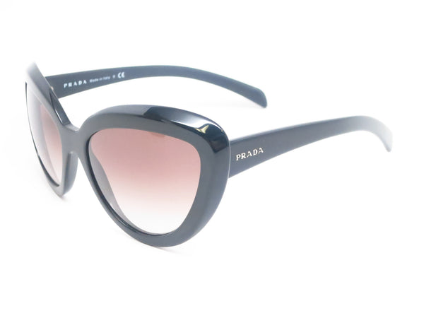 Prada SPR 08R 1AB-0A7 Black Sunglasses - Eye Heart Shades - Prada - Sunglasses - 1