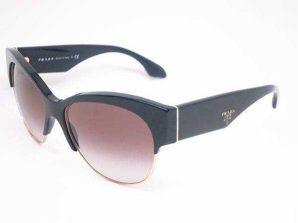 Prada SPR 11R 1AB-0A7 Black Sunglasses - Eye Heart Shades - Prada - Sunglasses - 1